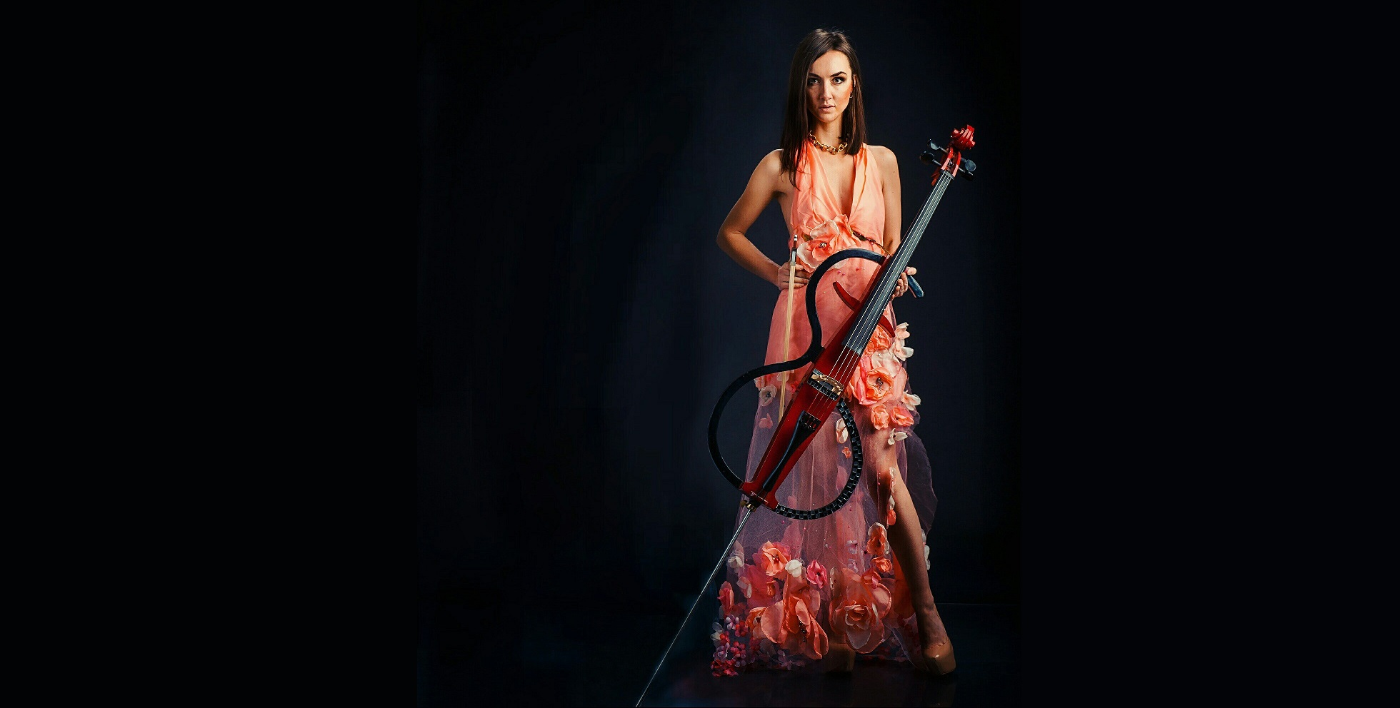 beautiful cello girl